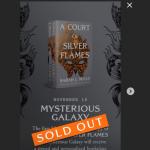 Bloomsbury Publishing Sarah J. Maas'ın A Court of Silver Flames kitabının anında tükendiğini gururla açıkladı
